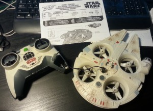 Air Hogs RC Millennium Falcon Quad