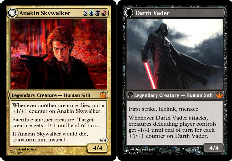 Games Star Wars the Gathering Cards