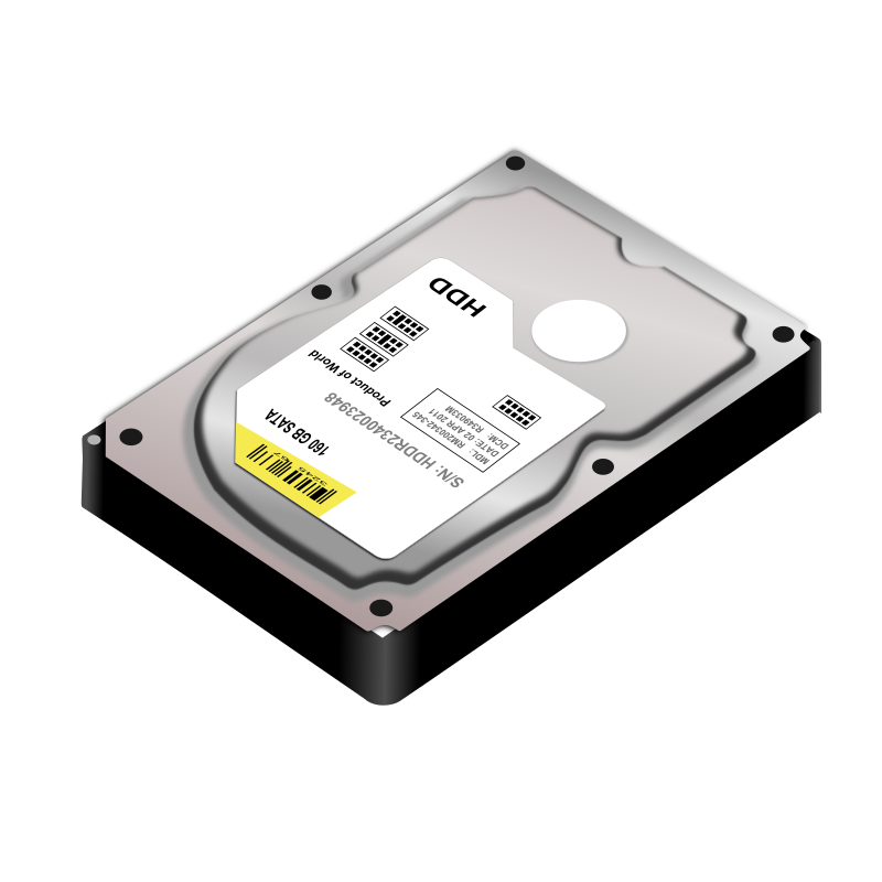hard drive - openclipart.org